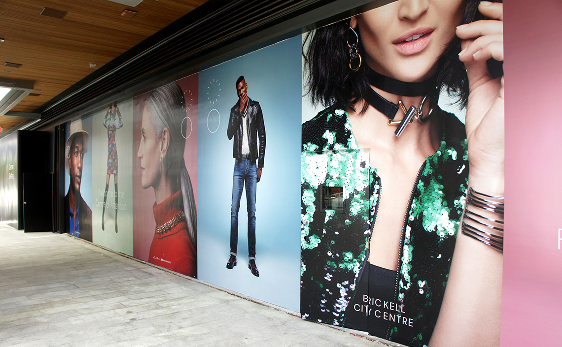 Brickell City Centre - New Mall  Enclosure & Graphics Project